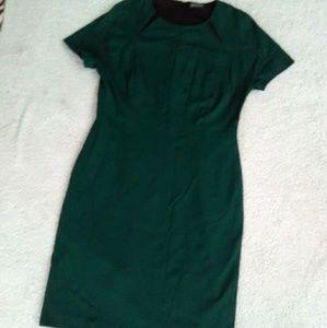 ☘Vince Camuto Emerald Shift Dress Sz L/14☘